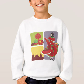 Spanish Flamenco Sweatshirt