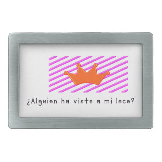 Spanish-Fool Rectangular Belt Buckles