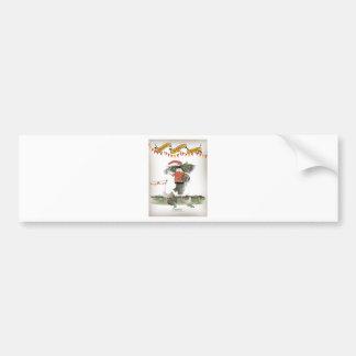 spanish football captain bumper sticker