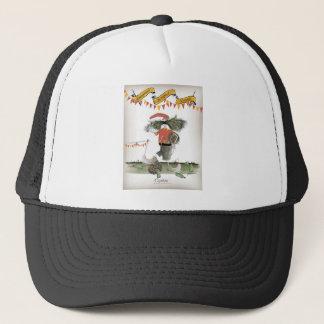 spanish football captain trucker hat
