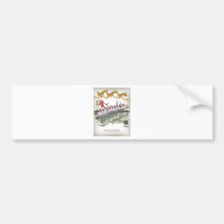 spanish football substitutes bumper sticker