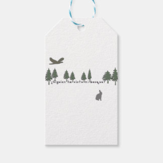 Spanish-Forest Gift Tags
