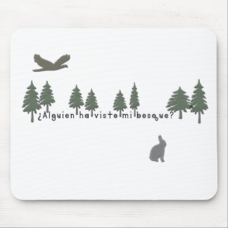 Spanish-Forest Mouse Pad