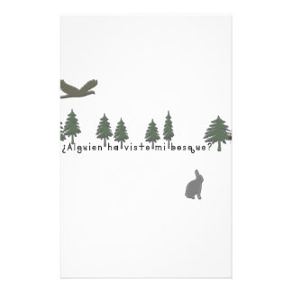 Spanish-Forest Stationery