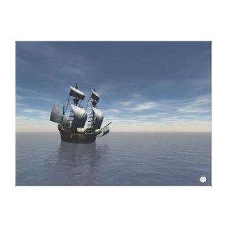 Spanish Galleon Canvas Print