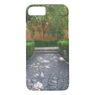 Spanish Garden Walkway iPhone 7 Case