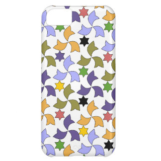 Spanish Geometric Pattern - White Cover For iPhone 5C