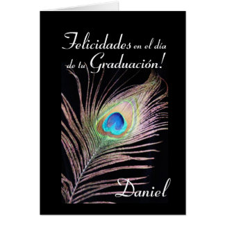 Spanish: Graduacion de Daniel Card