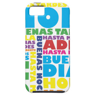 Spanish Greetings iPhone 5 Cover