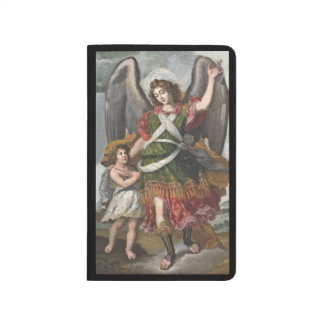 Spanish Guardian Angel and Child Journal