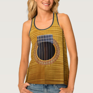 Spanish Guitar Tank Top