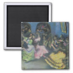 Spanish Gypsy Dancers, 1898 Square Magnet