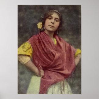 Spanish Gypsy Poster