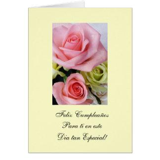 Spanish Happy Birthday Feliz Cumpleanos Greeting Cards