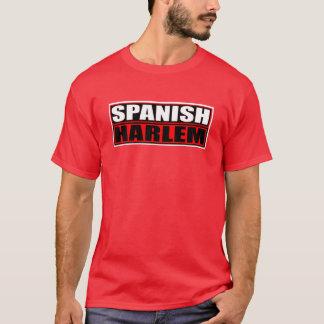 """""""SPANISH HARLEM"""" RED AND BLACK T-Shirt"""