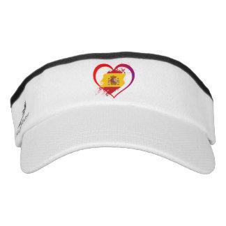 Spanish heart visor