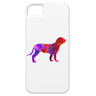 Spanish Hound in watercolor iPhone 5 Covers
