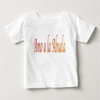 spanish.iluvgrandma baby T-Shirt