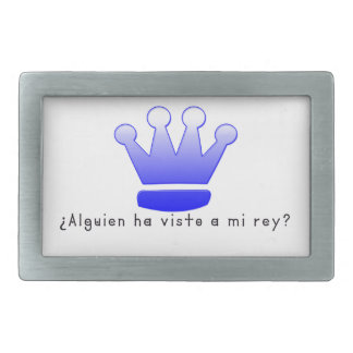 Spanish-King Belt Buckle