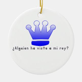Spanish-King Ceramic Ornament