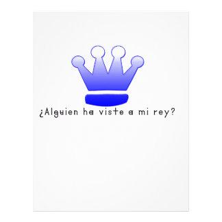 Spanish-King Letterhead
