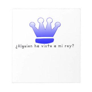 Spanish-King Notepad