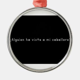 Spanish-Knight Metal Ornament