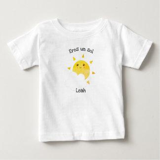 "Spanish Language ""Eres un sol"" Baby T-Shirt"