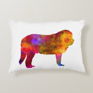 Spanish Ma in watercolor.png Decorative Pillow