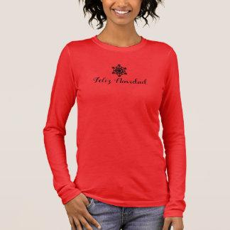 Spanish Merry Christmas Long Sleeve T-Shirt