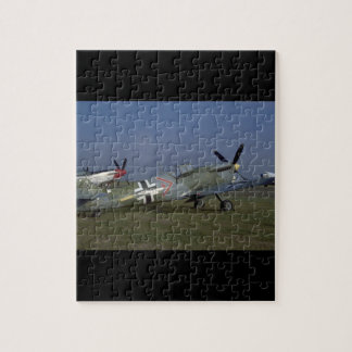 Spanish Messerschmitt ME 109,Right_WWII Planes Jigsaw Puzzle