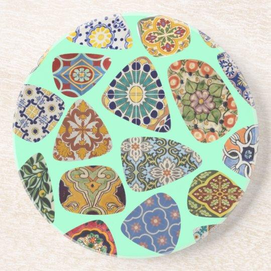 Spanish & Mexican Tile Mosaic Coaster