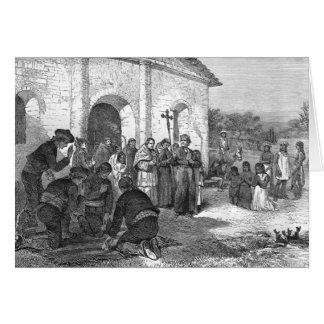 Spanish Mission of the Alamo Greeting Card