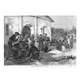 Spanish Mission of the Alamo Postcard