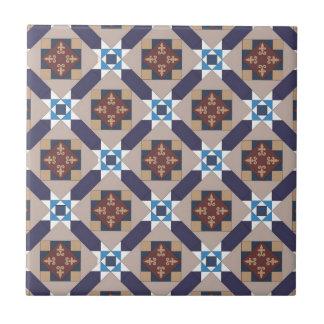 Spanish Moors Pattern Tile