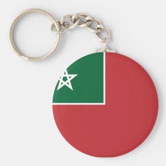 Spanish Morocco, Morocco Basic Round Button Keychain