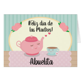 Spanish Mother's Day Card for Grandma