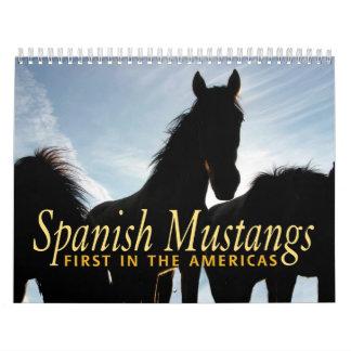 Spanish Mustang Calendar
