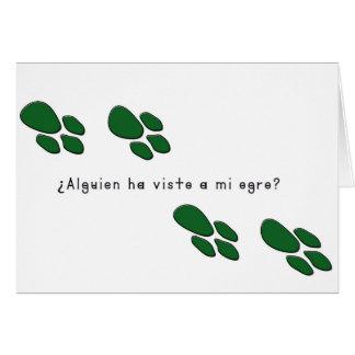 Spanish-Ogre Card