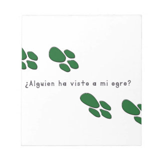Spanish-Ogre Notepad