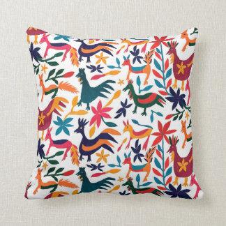 Spanish Otomi Throw Pillow