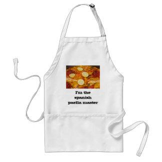 Spanish paella master apron