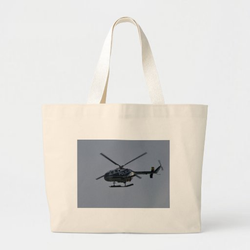 Spanish Police Helicopter Canvas Bag
