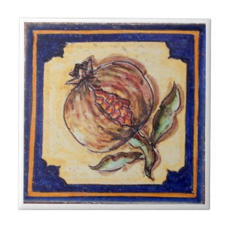 Spanish pomegranate Tile