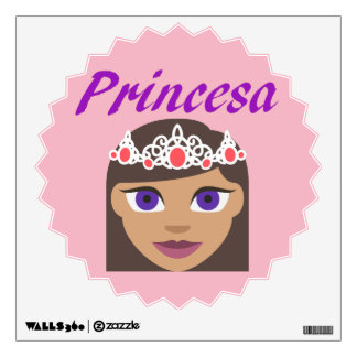 Spanish Princesa (Princess) Wall Sticker