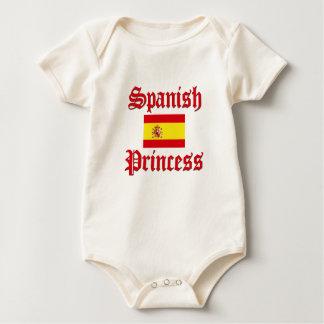 Spanish Princess Baby Bodysuit
