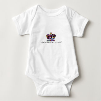 Spanish-Queen Baby Bodysuit