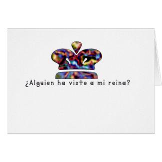Spanish-Queen Card