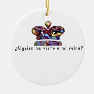 Spanish-Queen Ceramic Ornament