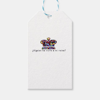 Spanish-Queen Gift Tags
